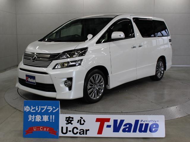 トヨタ 2.4Z ゴールデンアイズII ナビ 後席TV 両電スラ