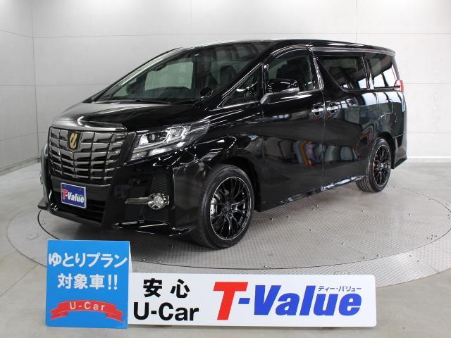 トヨタ 3.5SA タイプブラック 11型ナビ 後席TV ETC