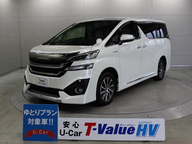 トヨタ V 9型ナビ 後席TV Bモニター ETC エアロ