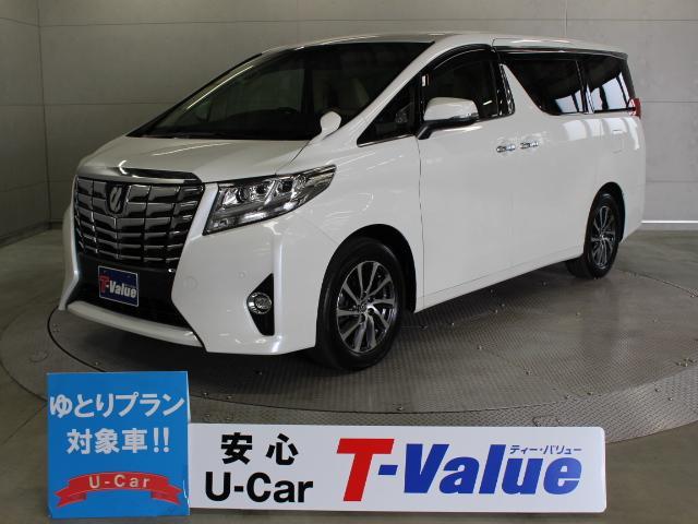 トヨタ 3.5GF 9型ナビ 後席TV ETC LED 本革