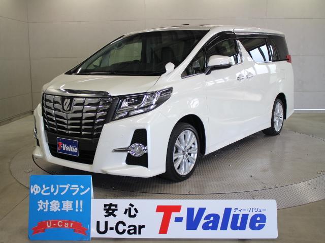 トヨタ 2.5S 9型ナビ 後席TV ETC 両電スラ Mルーフ