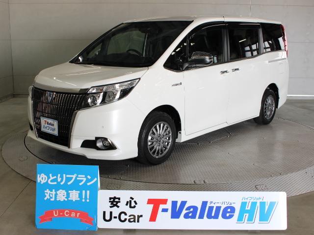 トヨタ ハイブリッドGi ブラックテーラード 10型ナビ 後席TV