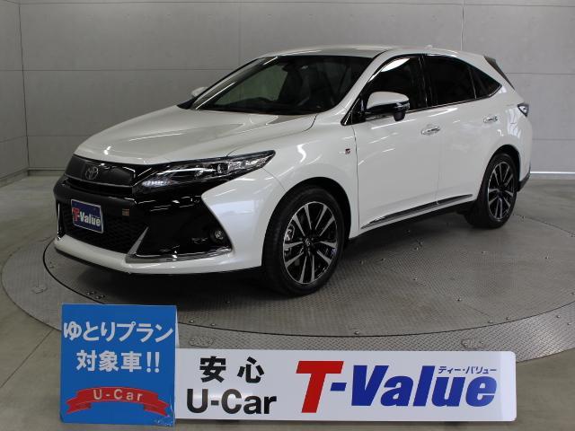 トヨタ エレガンスGRスポーツ 9型ナビ ETC LED TSS-P