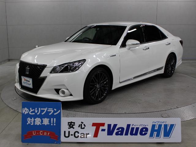 トヨタ アスリートS ブラックスタイル 本革 マルチ ETC
