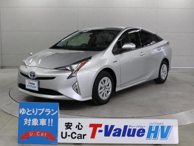 トヨタ S T-ValueHV SDナビ Bモニター ETC LED