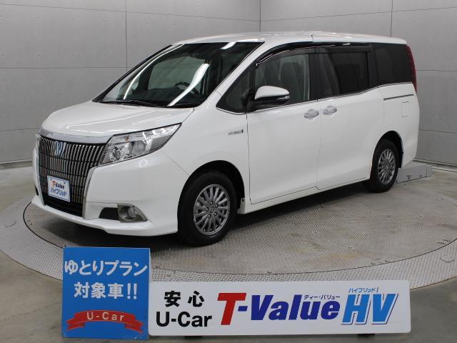 トヨタ ハイブリッドGi ナビ 後席TV Bモニター TSS-C
