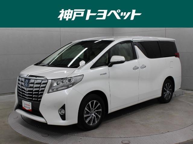トヨタ G Fパッケージ 本革 PCS 9型ナビ 後席TV ETC
