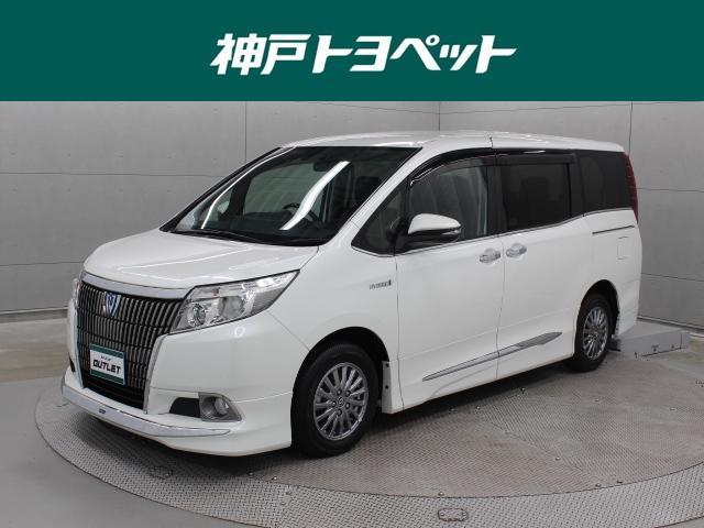 トヨタ ハイブリッドGi 9型ナビ 後席TV バックカメラ ETC モデリスタエアロ