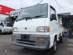 サンバートラックSTDスペシャルII 4WD エアコン パワステ 軽トラック