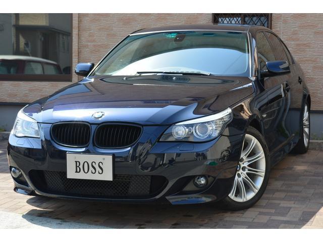 BMW 525i Mスポーツパッケージ 黒革 サンルーフ 純正ナビ