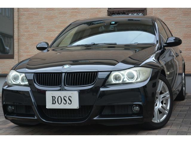 BMW 323i Mスポーツパッケージ ユーザー買取 純正ナビ プッシュスタート F席パワーシート HID フォグ 純正17インチAW ブラックキドニー ETC キーレス 電格ミラー