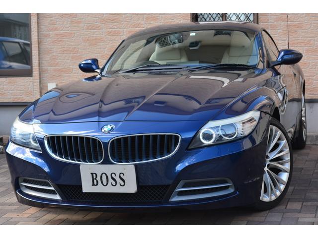 BMW Z4 sDrive23i ユーザー買取車 白革コンビシート 純正ナビ フルセグTV パドルシフト プッシュスタート ミラーETC HID 純正18インチAW キーレス 左右シートヒーター 取説 保証書 スペアキー