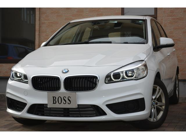 BMW 218dアクティブツアラー ワンオーナー・ユーザー買取・インテリジェントセーフティ・純正ナビ・Pスタート・アイドリングSTOP・LEDヘッドライト・ETC・LIM・純正16AW・禁煙車・電子式Pブレーキ
