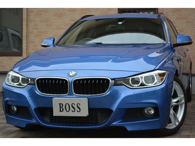 BMW 3シリーズ 320iツーリング Mスポーツ ユーザー買取 純正ナビ 電動リアゲート バックカメラ ソナーセンサー スマートキー Pスタート アイドリングSTOP F席パワーシート 純正18インチAW ミラーETC パドルシフト スペアキ―