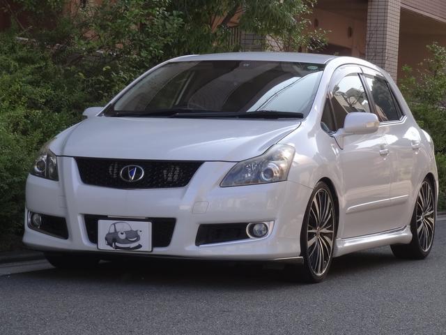 トヨタ ベースグレード HIDヘッドライト ローダウン 社外マフラー