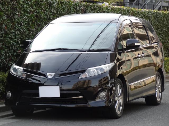 トヨタ 2.4アエラス 20thアニバーサリーエディション 純正ナビ