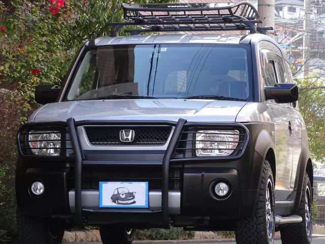 ホンダ ベースグレード4WD 専用グリルガード ルーフキャリア