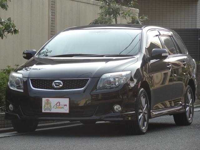トヨタ X 202 合皮レザーシート 純正SDナビ Bカメラ HID