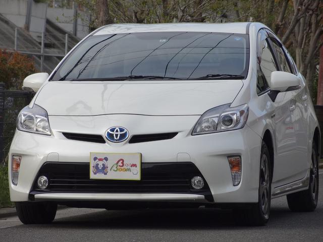 トヨタ Sマイコーデ ブルーハーフ革シート 純正8インチHDDナビ
