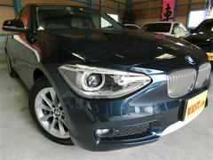 BMW116i スタイルターボアイドリングストップハーフレザー