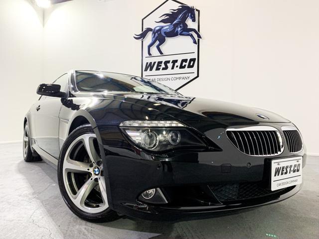 BMW 650i後期電子シフトサンルーフ黒本革19AWPスタート