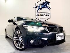 BMW420iグランクーペMスポーツ赤革19インチAWナビLED