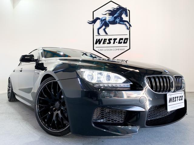 BMW 6シリーズ 640iグランクーペ Mスポーツパッケージ ■M6純正バンパー M6純正フェンダー Scherzen EXTEND車高調 RAYS HOMURA20inch AW Supersprint4本出しマフラー カーボンディフーザー カーボンスポイラー