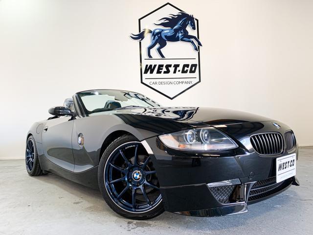 BMW Z4 ロードスター2.5i ARQRAYマフラー アドバンRGII ST車高調KW社 WALDリップ RECAROシート2脚 ARCスタビ グループMインテーク 24Mステアリング 地デジTV Bluetooth
