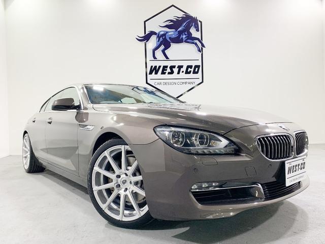BMW 640iグランクーペ サンルーフ 白革 MALDINI20インチAW 純正ナビ バックモニター シートヒーター クルーズコントロール パークディスタンス パワーシート コンフォートアクセス アダプティブLEDライト ETC