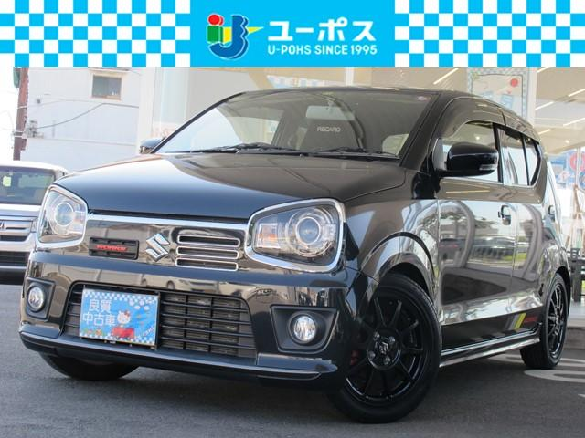 スズキ ベースグレード ワンオーナー・HKSマフラー・RS-Rダウンサス・HID・SDナビ・Bluetooth対応・DVD再生OK・Bカメラ・フルセグTV・ETC・スマートキー・禁煙車