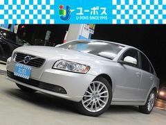 ボルボ S402.0eアクティブプラス HDDフルセグナビ 黒革シート