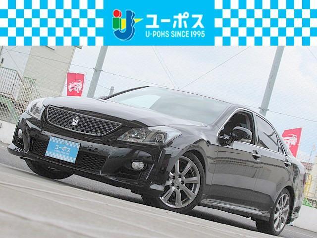 トヨタ 2.5アスリート ナビパッケージ ダークブラウンレザー/エアシート