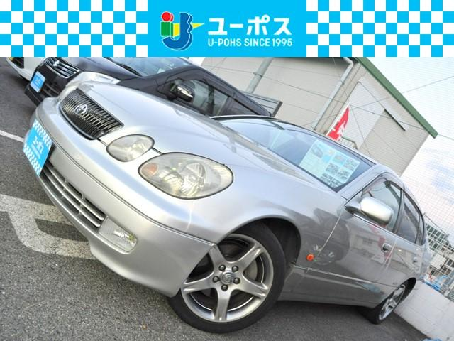 トヨタ アリスト V300 生誕10周年記念特別仕様車 メーカーナビ 外TV 黒レザー Pシート シートヒーター クルコン HID 17AW
