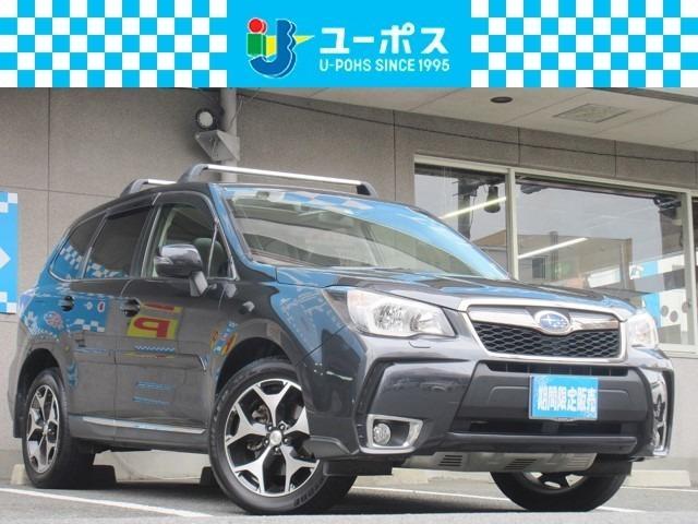 スバル 2.0XT アイサイト サンルーフ ナビ 4WD 革シート