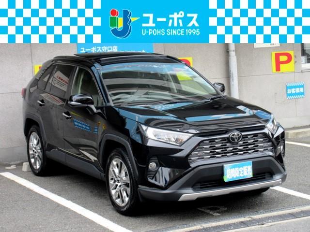 RAV4(トヨタ) G Zパッケージ 4WD サンルーフ 革シート ビッグXナビ 中古車画像