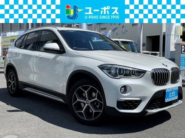 BMW X1 xDrive 18d xライン 4WD Rカメラ インテリジェントセーフティ ヘッドレストモニター F席パワーシート シートヒーター レーダークルーズ レーンキーピング 衝突軽減システム パワーバックドア ETC