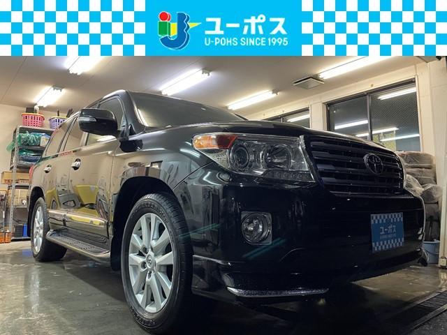 ランドクルーザー(トヨタ) ZX ユーザー買取・ワンオーナー・Rカメラ・フルセグTV・F席パワーシート・シートヒーター・ウッドコンビハンドル・クルコン・ETC 中古車画像