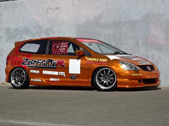 ホンダ EP3タイプRレーシングカーフルラッピングJDM