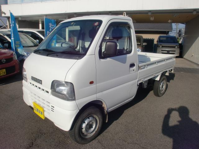 スズキ KA 4WD 5MT CDオーディオ 車検令和3年12月 走行 34,800キロ