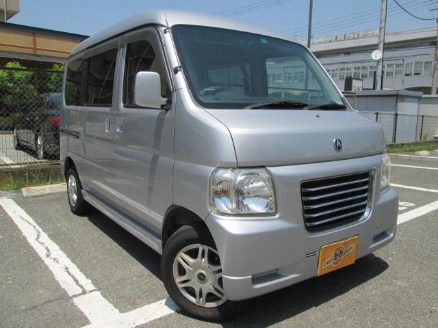 ホンダ バモスホビオ ターボ ナビ地デジTV ETC 4WD