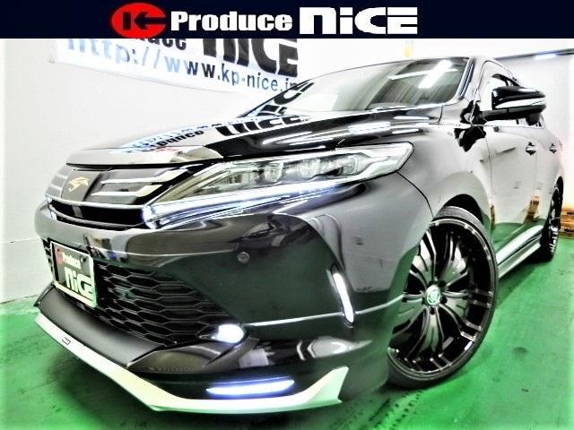 トヨタ プレミアムメタルレザーモデリスタRSR車高調22インチ SR