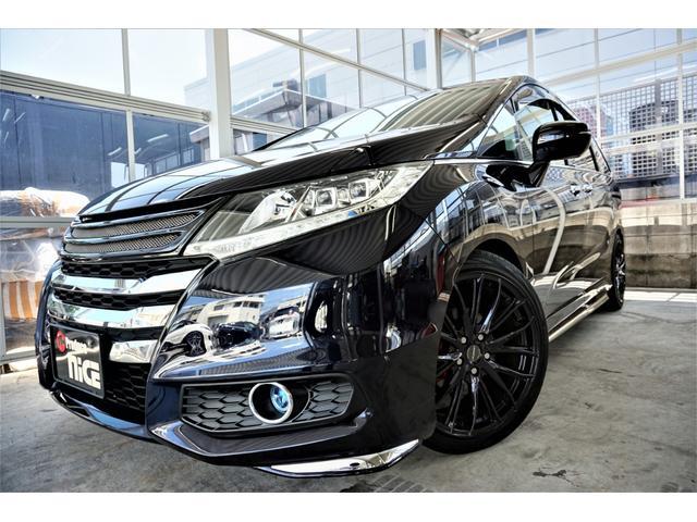ホンダ アブソルートEX 19アルミ車高調LEDフォグフルセグ安心P