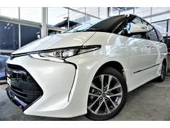 エスティマアエラス 新品SDナビ フルセグTV セーフティセンス 新車