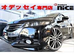 オデッセイアブソルート新品19アルミ新品車高調スマートキーフルセグTV
