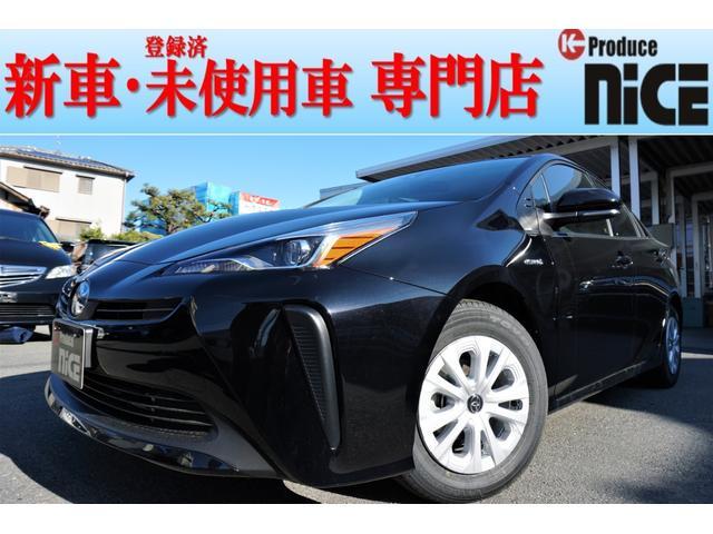 トヨタ S 新車LEDライトレーダークルーズ衝突軽減ブレーキ 黒内装