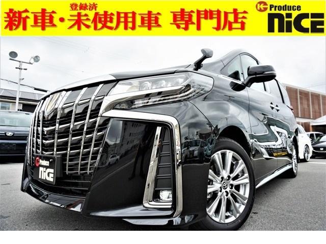 トヨタ 2.5S タイプゴールド 新車・ツインムーンルーフ・三眼LEDヘッド・両側パワスラ・レーダークルーズ・衝突防止ブレーキ・電動リアゲート・純正18インチAW