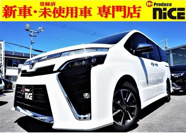 トヨタ ZS 煌II 新車・衝突軽減ブレーキ・クルコン・コーナーセンサー・LEDヘッド・フォグライト・両側電動スライドドア・アイドリングストップ・ウインカードアミラー・16インチアルミ
