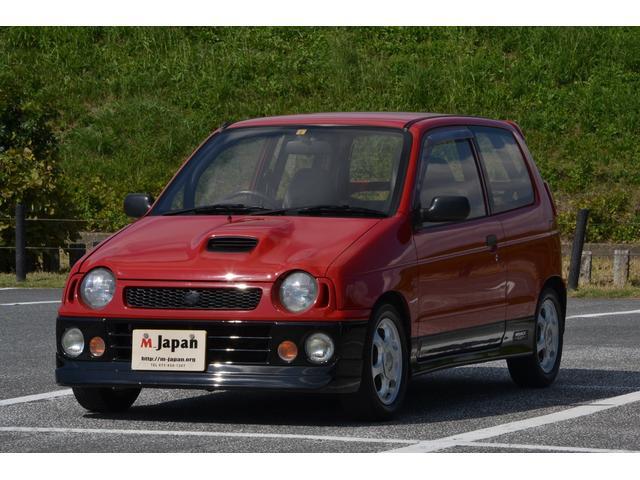スズキ アルトワークス RS/Z 4WD ツインカムターボ 5速 RHB31タービン 社外フロントパイプ スズスポマフラー フルタップ車高調 燃料増量 錆び腐り無し