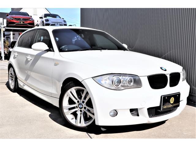 BMW 130i Mスポーツ 6速MT SR LowerReinforcementCPM ARCタワーバー ディクセルスリットローター PIVOTスロットルコントローラー 車高調 テフロンブレーキホース