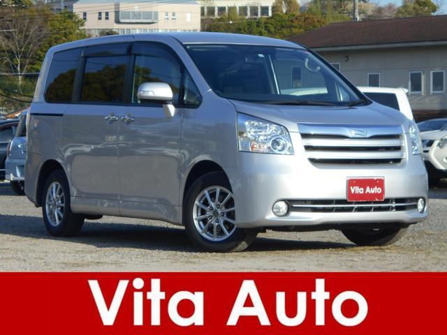 トヨタ ノア X スマートエディション HDDナビ リアカメラ 地デジ スマートキー HIDヘッドライト 両側パワースライドドア 社外アルミ ETC